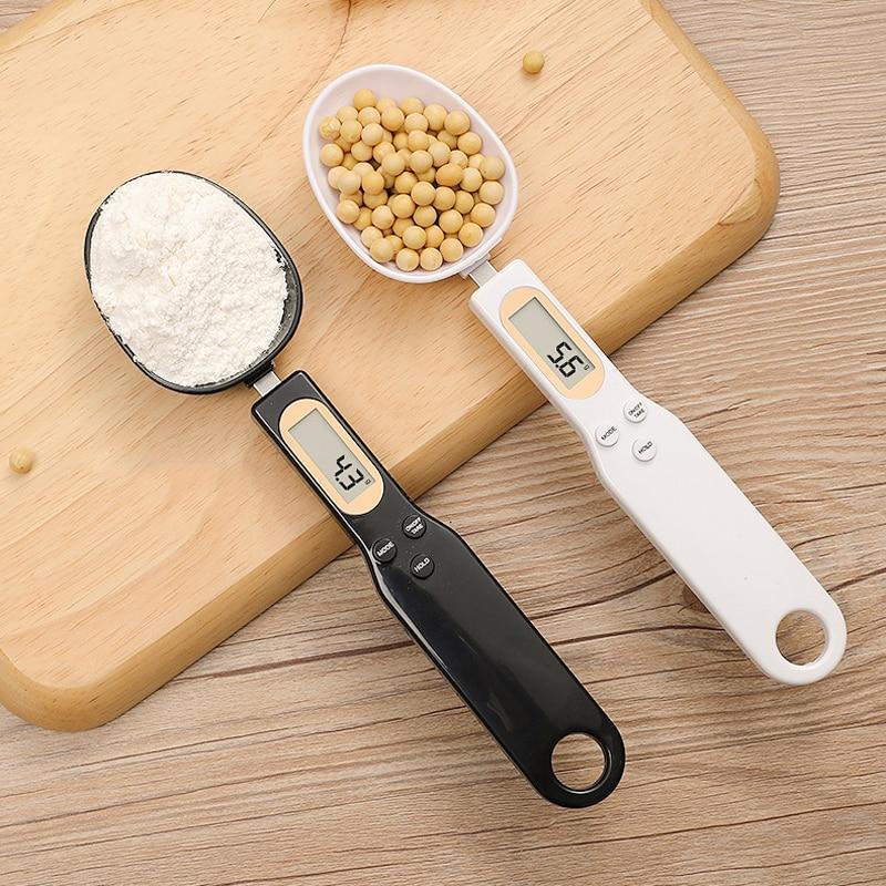 LCD Digital portátil de medición cucharas para café azúcar Gram escala cuchara taza de medición balanza electrónica cocina accesorios de repostería