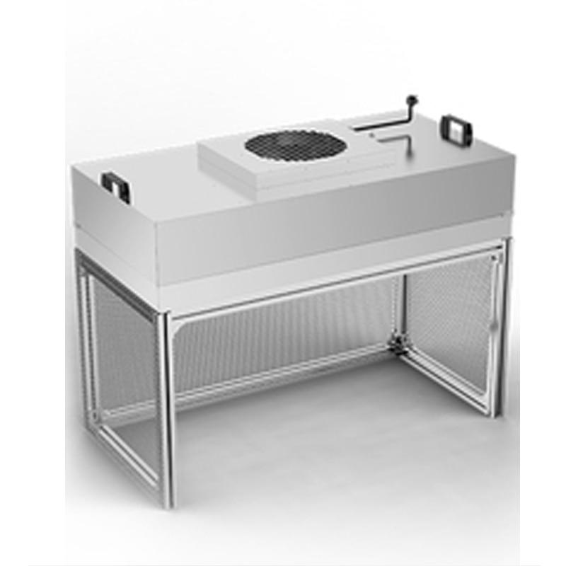1 قطعة FFU 100-مستوى تنظيف منضدة آلة الصحافة الشاشة مكافحة ساكنة فائقة نظيفة طاولة العمل ورشة عمل خط وحدة 220V