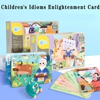 kids early education high frequency idiom enlightenment ward with picture pinyin primary school student enlightenment story book