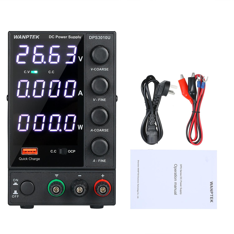 dps3010u 0 30v 0 10a 300w comutacao dc fonte de alimentacao 4 digitos display led