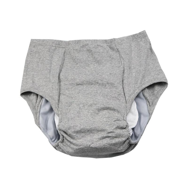 Тканевые подгузники для взрослых, подгузники для мужчин и женщин, подгузники для мочи старой мочи, водонепроницаемые хлопковые подгузники ...