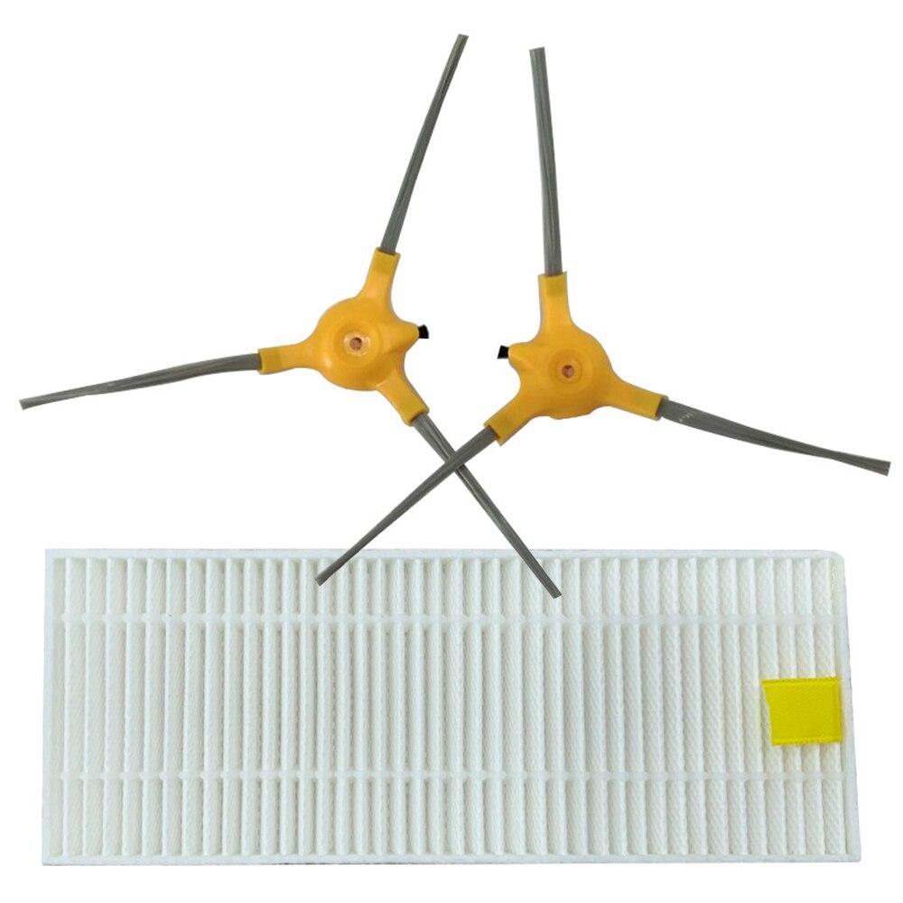 Kit de filtros Cepillo Lateral y 1 Uds. Para Isweep X3, piezas de limpiador al vacío, accesorio de mantenimiento estándar, piezas de herramientas de limpieza, 2 uds.