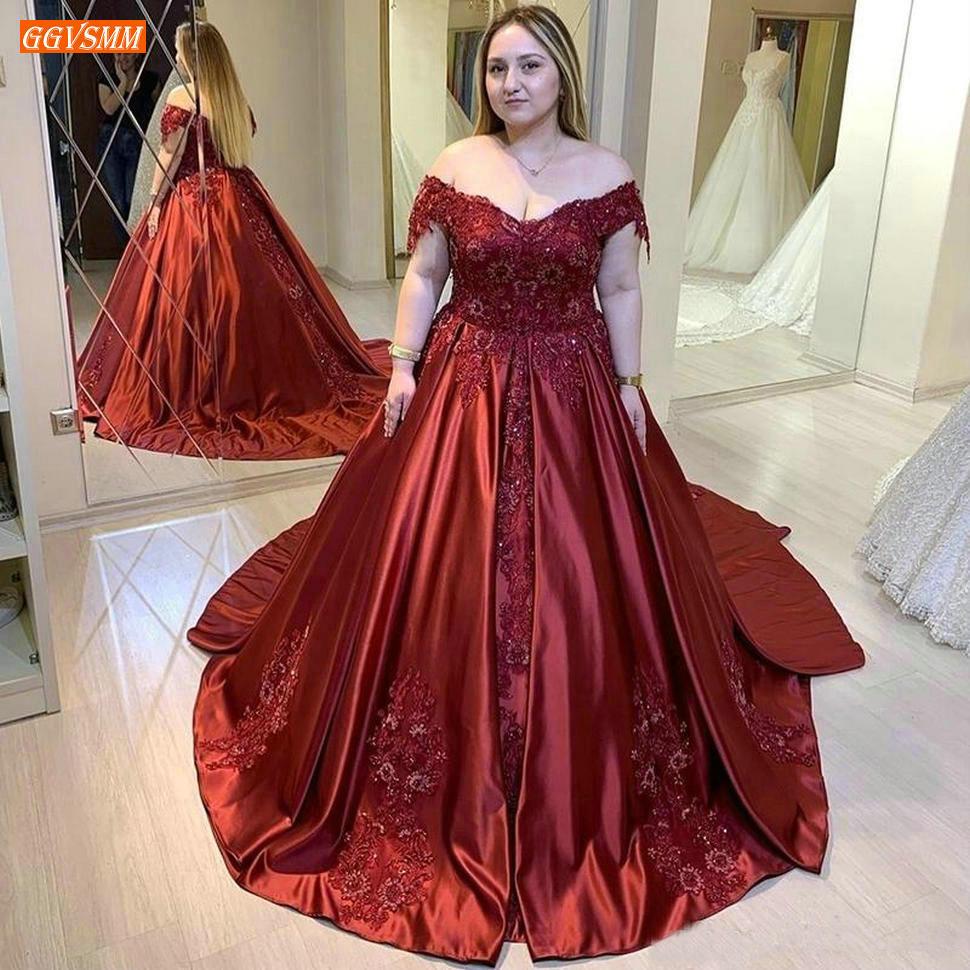 Moda Africana Borgoña vestido de noche aplique de corazón con cuentas mujeres vestidos formales fiesta largo satén personalizado vestido de noche