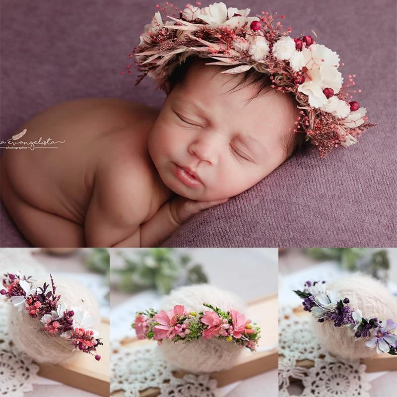 Newborn Toddler Girl Headband  Flower Headband Hair Baby Accessories Lace Flower Headband Baby Girl Headress Baby Hair