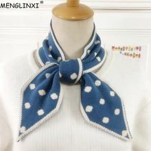 Écharpe tricotée à petits points   Écharpe longue et fine, écharpe femme à Angle pointu, foulard enveloppant, foulard
