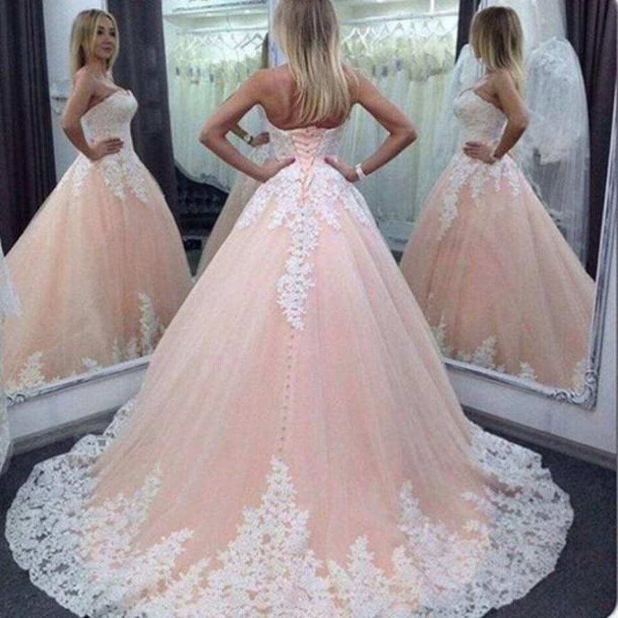 2020 sexy rosa quinceanera vestido de baile vestidos querida renda apliques tule doce 16 corset volta festa baile noite vestidos