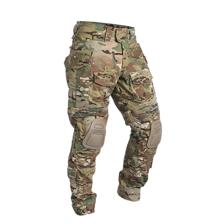 Airsoft Paintball Clothing Military Shooting Uniform Tactical Combat Camouflage Shirts Cargo Pants Elbow/Knee Pads Suits