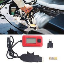 Автоматические предохранители Buddy, мини тестер, детектор автомобильного электрического тока AE150, 12 В, 23 а, ЖК дисплей