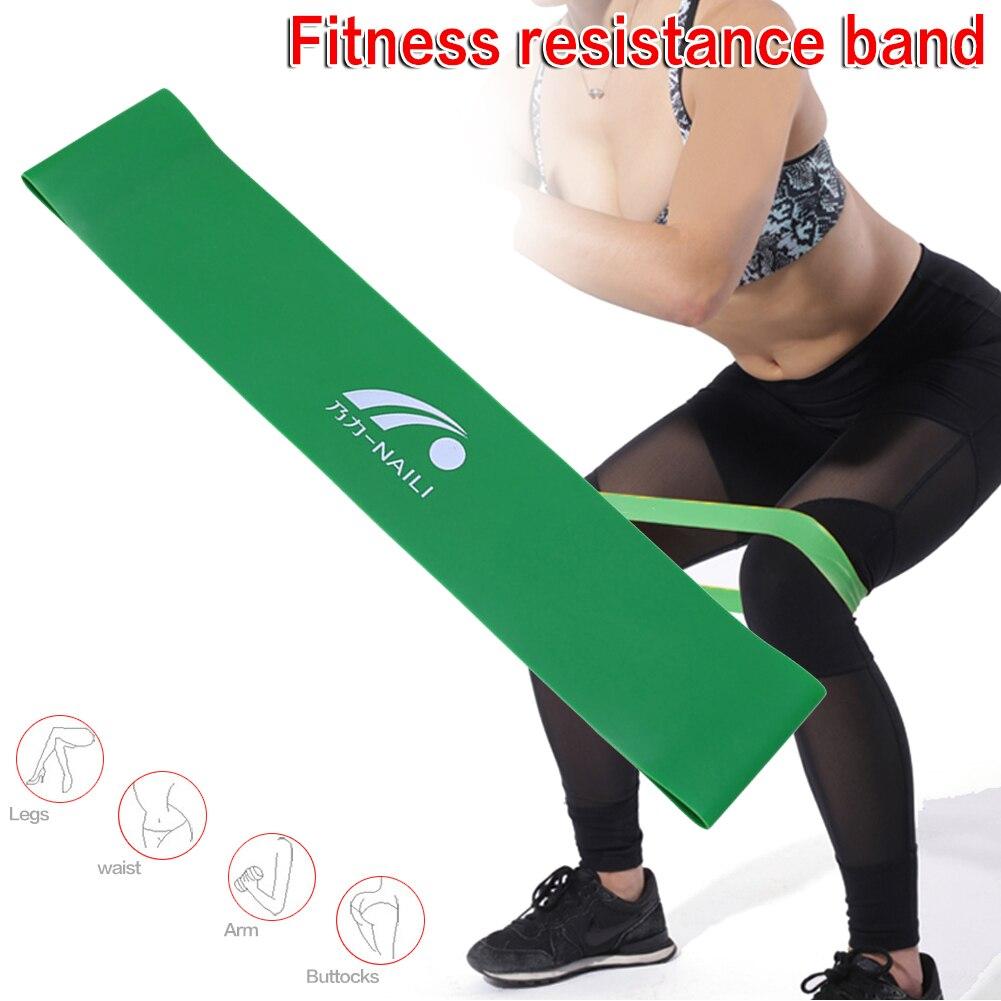 Мини фитнес оборудование Эспандеры Йога резиновая петля спортивные мышцы тренировки оборудование для упражнений