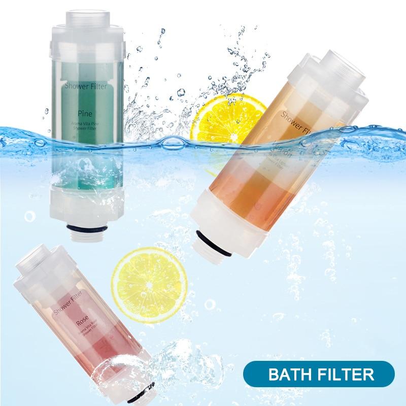 1 Pcs Vitamine C Douche Filter Aroma Douchekoppen Filter Gezonder Huid Haarverzorging JA55