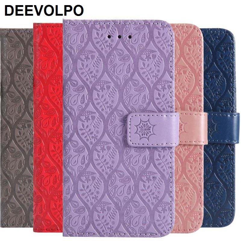 Чехол для Samsung Galaxy S10E S10 S9 S8 Plus S7 S6 Edge S5 S4 J3 J5 A3 2016 A5 2017 чехол-кошелек из ротанга с цветами DP27F