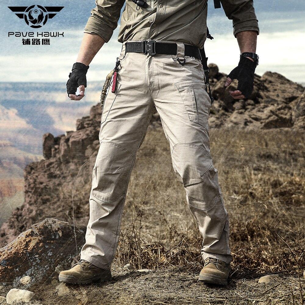 IX8 pantalones tácticos impermeables para hombre, pantalones de senderismo, trabajo militar al aire libre, Trekking, pesca, caza, pantalones Cargo para mujer