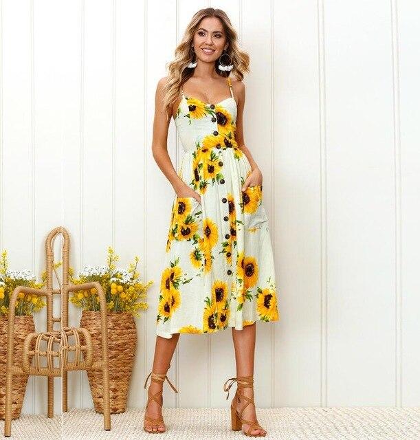 ARMEDEO-فستان طويل بكتف مكشوف للنساء ، فستان شاطئ بوهيمي مع أحزمة رفيعة ، مقاس كبير ، صيفي