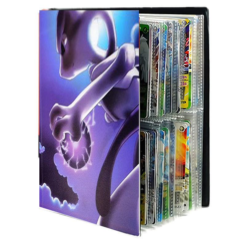 80/240PCS Cool Pokemon Cards Album Book Cartoon Anime Game Card EX GX Collectors Holder Folder Top Loaded List Toys Gift For Kid