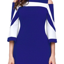 Women Summer Casual Loose O-neck Patchwork Plus Size 5xl Dresses Fashion Half Sleeve Sexy Hollow Out