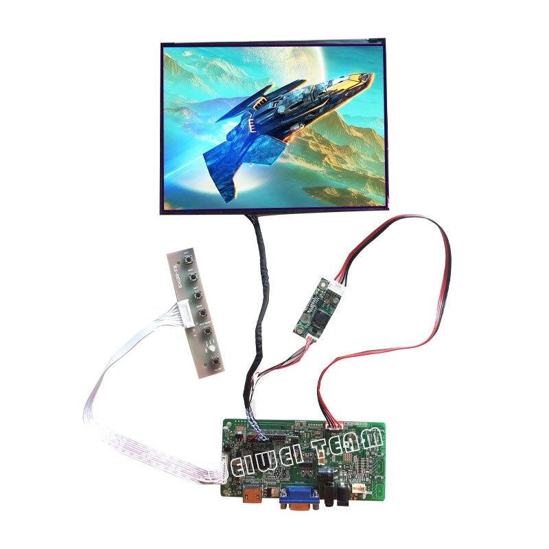 شاشة عرض TFT LCD 8.4 بوصة, 1024x768 ، IPS ، LCD ، لوحة للقيادة ، واجهة LVDS ، سطوع عالي ، شاشة سيارة ، استبدال Outdoo