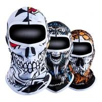 motorcycle balaclava summer ice silk face mask moto breathable headwear quick drying face masks neck lycra fleece skull mask