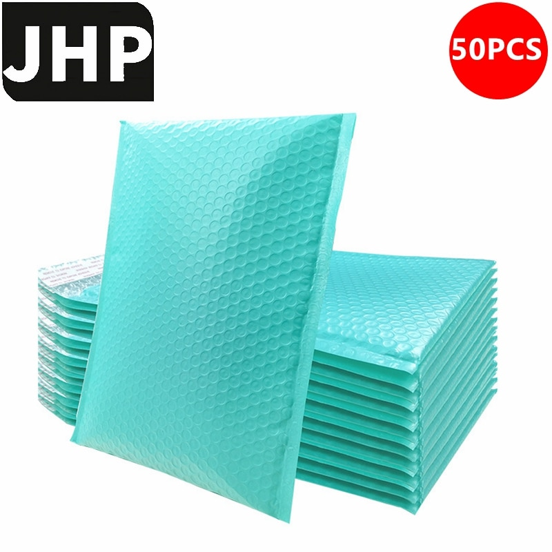 50PCS Blue Pink Self Sealing Bubble Mailer Envelopes,Small Size Shockproof Padded Mailing Bag for 3C Products Sending
