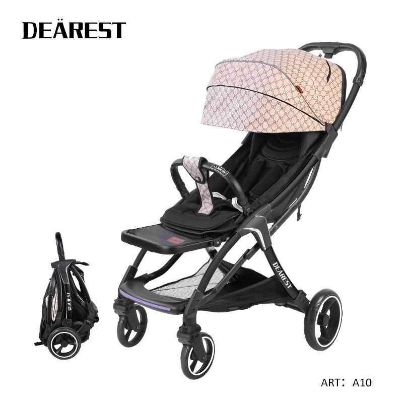 DEAREST A10 Baby Car Cart Model Folding Baby Car Light Four Seasons General in Russia enlarge