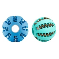 toys for dogs rubber dog ball for puppy funny dog toys for pet puppies large dogs tooth cleaning snack ball toy for pet products