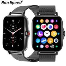 2021 Smart Watch Men 1.69 Inch Full Touch Screen Receive/Make Call Heart Rate Monitor GTS 2 Women Smartwatch for xiaomi amazfit