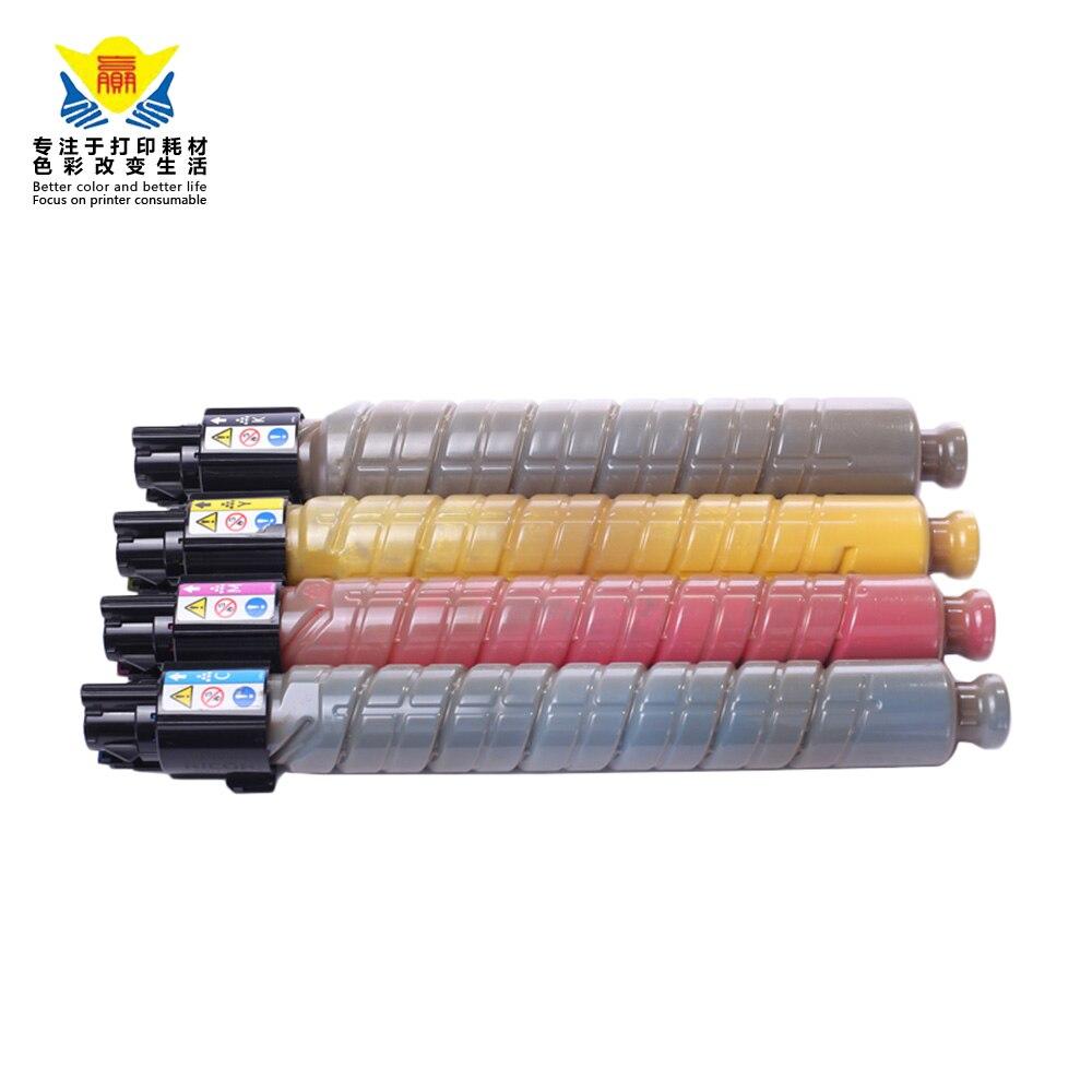 JIANYINGCHEN متوافق لون الحبر خرطوشة ل Ricohs aficio MP C300 C300SR C400 C400SR C401 C401SR ناسخة (4 قطعة/الوحدة)