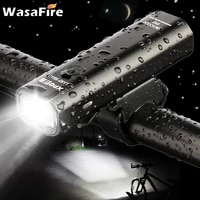 wasafire 400lm bike light headlight bicycle handlebar front lamp mtb rode cycling usb rechargeable flashlight torch headlamp