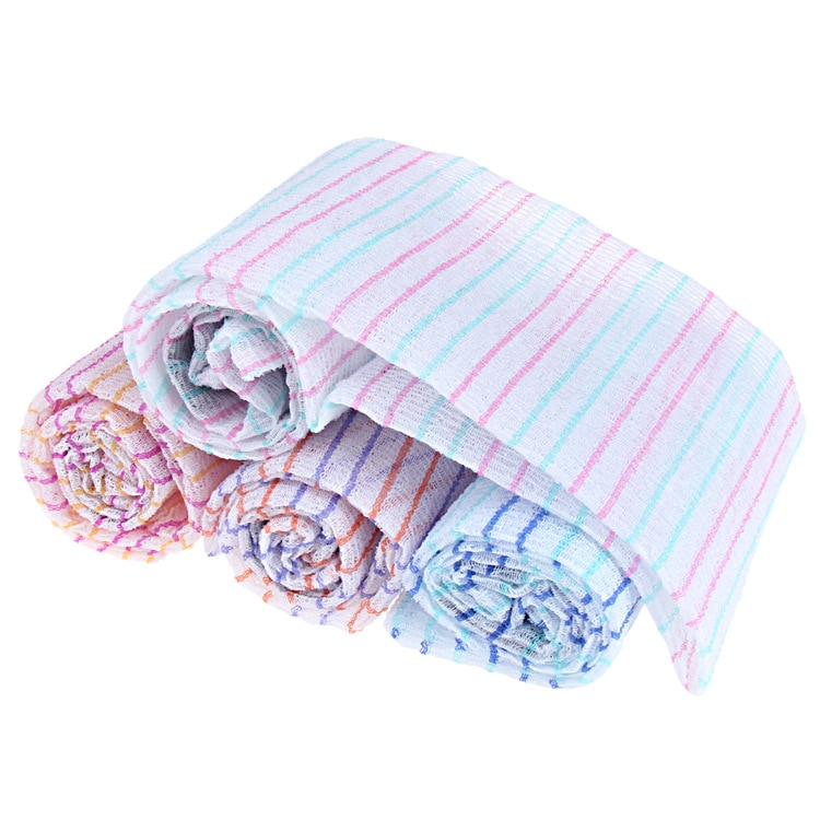 Korean  Towel Exfoliating Long Viscose Bath Back Scrub Viscose Bath Towel  30x90cm