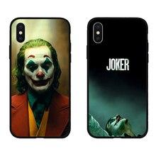 Joker 2019 Joaquín Phoenix funda de teléfono de silicona suave negra para iPhone11 pro 5S se 6 6s 7 8 plus X Xs X XR.