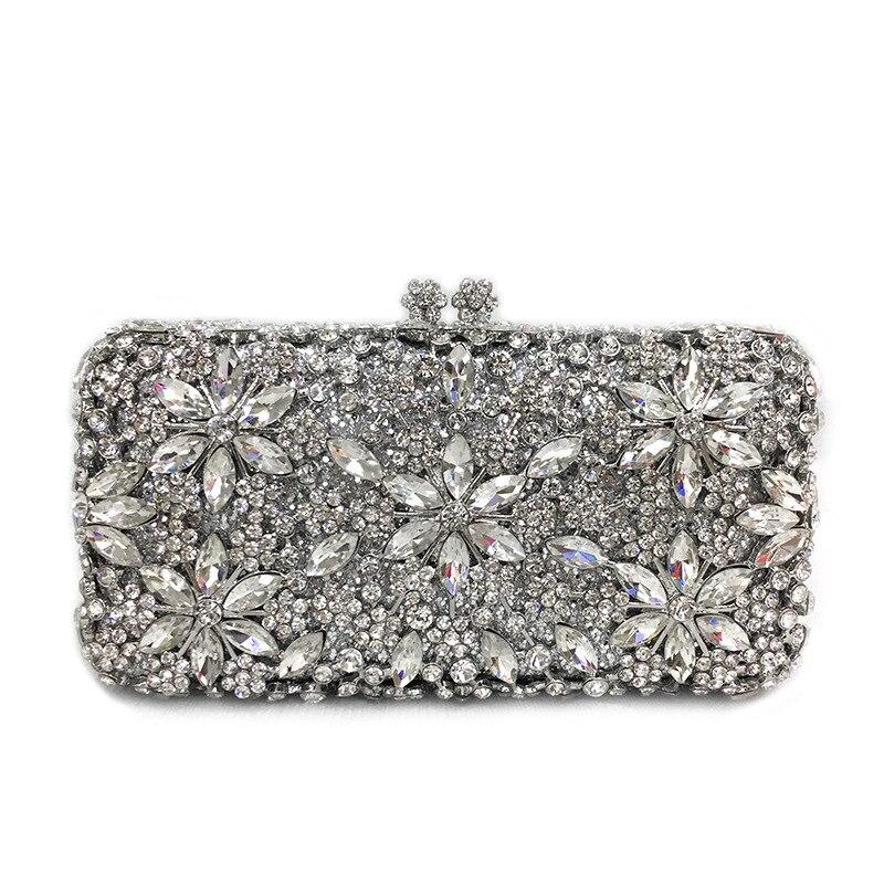18x10 سنتيمتر حجر الراين حقيبة المموج المعادن كريستال مساء حقيبة الماس المرأة حقيبة صغيرة حقيبة الزفاف a6816