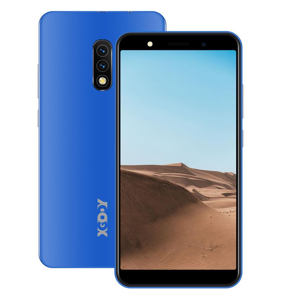 XGODY الهواتف المحمولة أندرويد 8.1 5 بوصة 18:9 1GB 8GB الهاتف الذكي MTK6570N المزدوج سيم كاميرا 5MP 2500mAh لتحديد المواقع واي فاي الجيل الثالث 3G الهواتف Mate 10