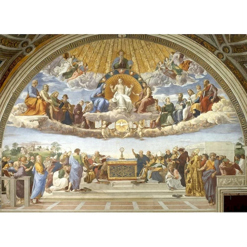 Gatyztory 60x75cm Ölgemälde Durch Zahlen Religiöse Bild Handgemalte Öl Malerei Home Wand Decor