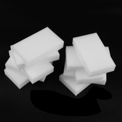 100 pçs branco multi-funcional esponja mágica limpador de borracha 100x60x20mm melamina esponja esponjas universais lavagem de louça