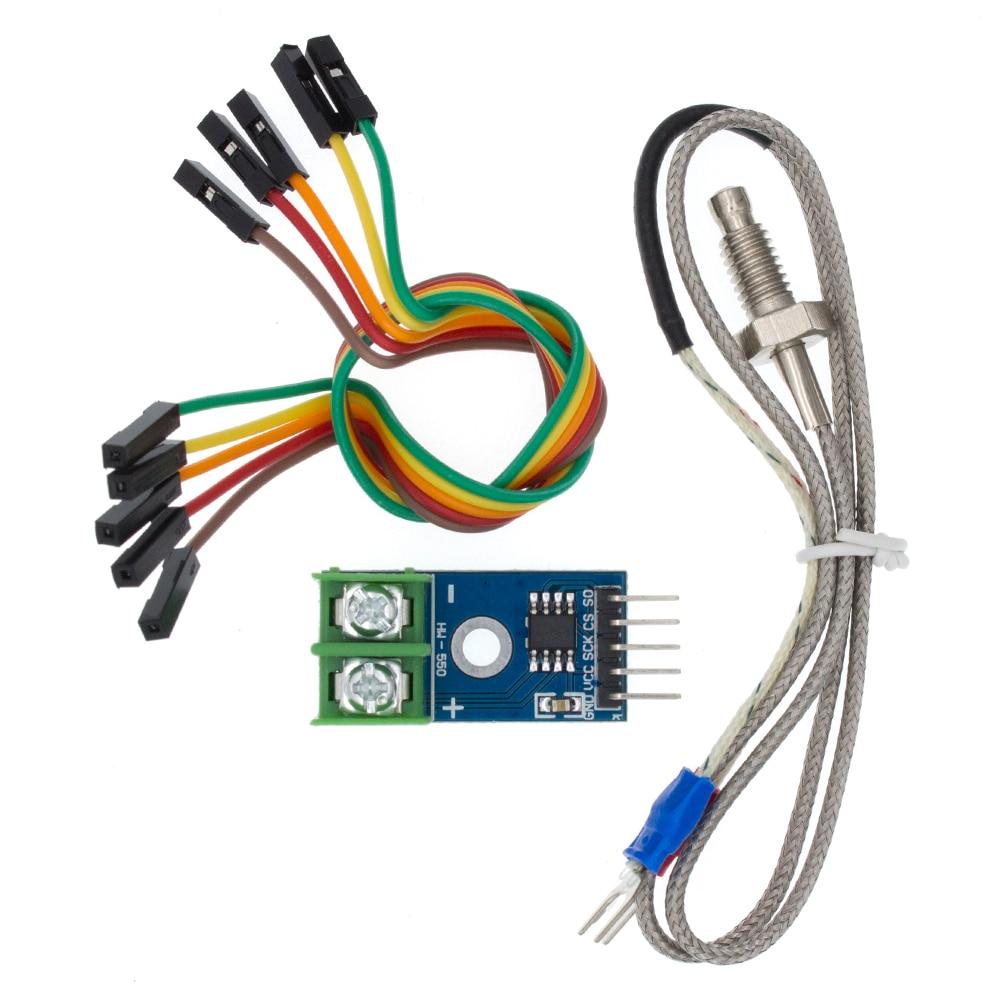 MAX6675 модуль + K типа термопары Senso температурный градусный модуль для arduino