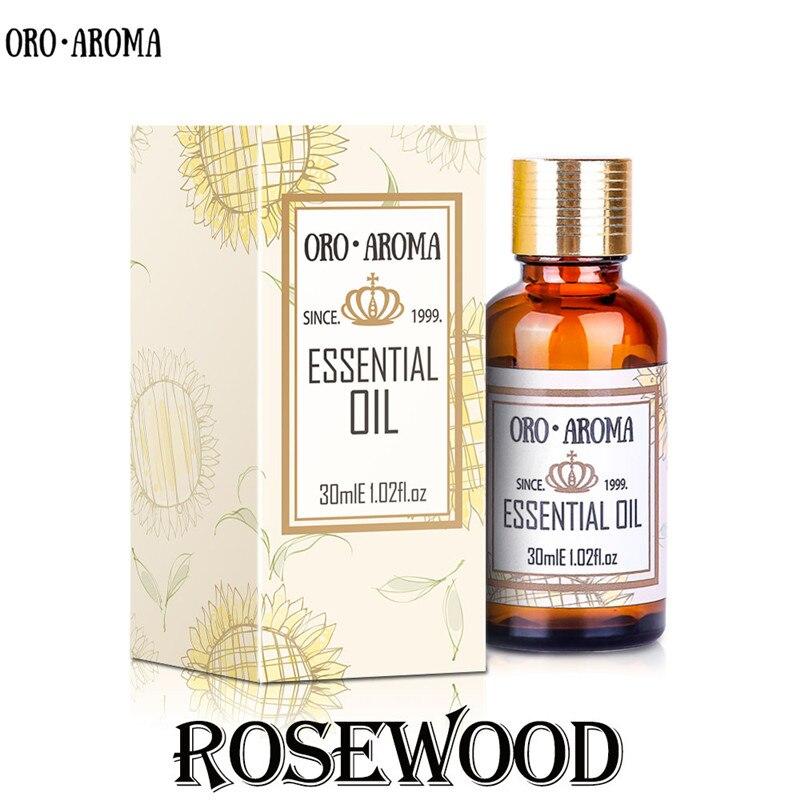 Famosa marca oroaroma palisandro natural de aceite esencial anti-arrugas humedad cura el dolor de cabeza el clordimeformo aceite de palo de rosa
