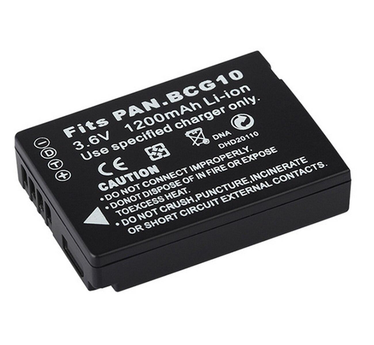 Bateria para panasonic lumix DMC-TZ6, DMC-TZ7, DMC-TZ8, DMC-TZ9, DMC-TZ10, DMC-TZ18, câmera digital