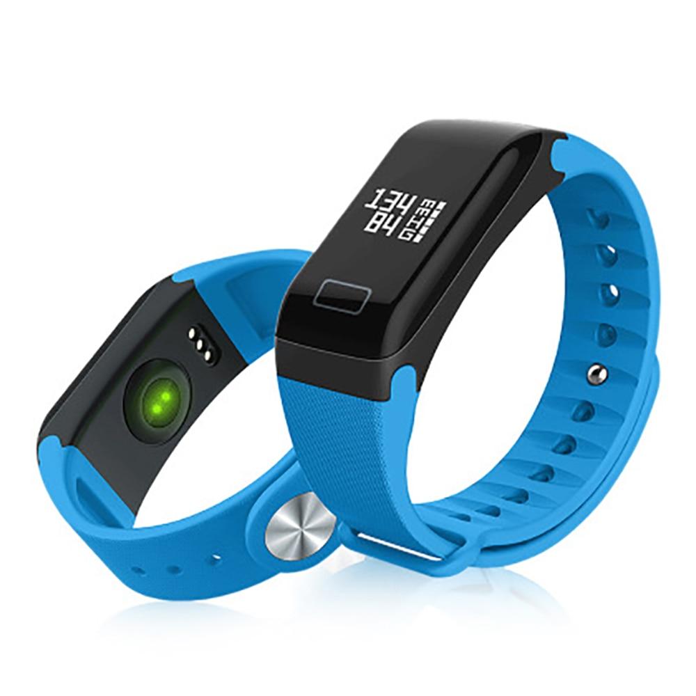 2020 Смарт-часы измерение артериального давления импульсные часы F1 смарт-браслет подометр смарт-браслет пульсометр