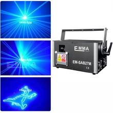 1W-10W ILDA DMX Blue animation laser 3D SD card stage disco laser /club light/party laser/lazer show