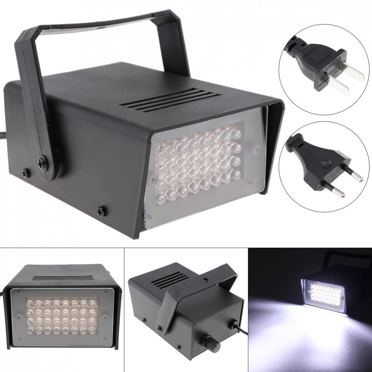 32 leds mini luz estroboscopica controle de voz efeito de palco luz para pequena