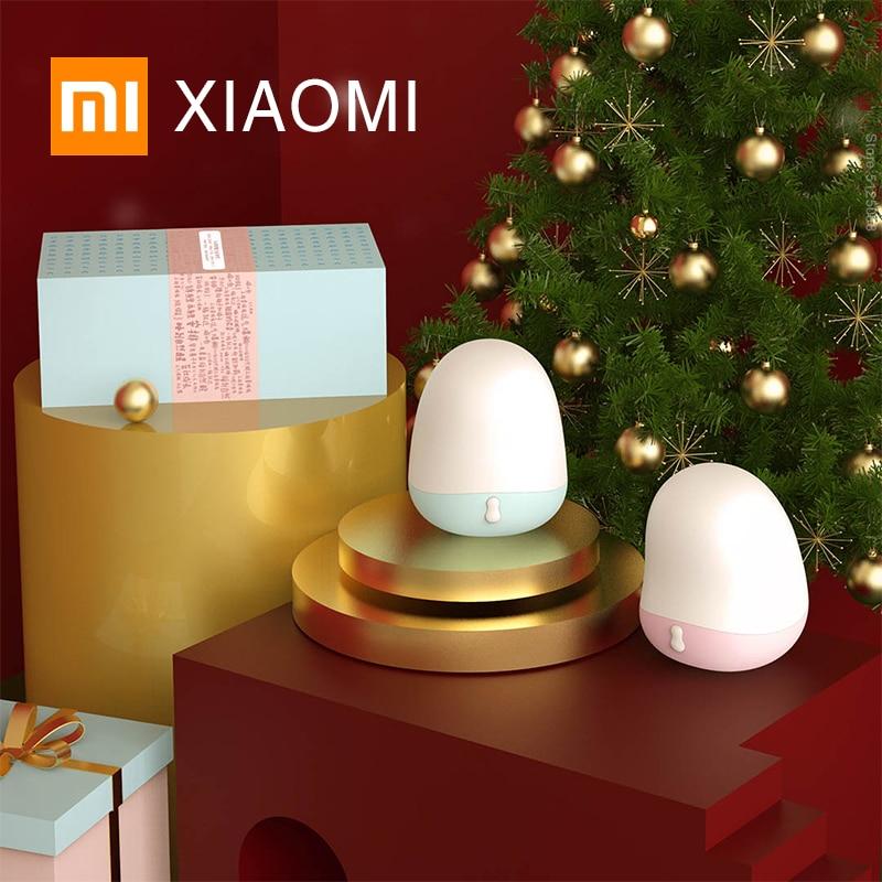 Luces de noche XIAOMI MIJIA, lámpara de mesa LED Midian de 1800K, luces de noche a baja temperatura para interiores, luz de escritorio para dormitorio, ayuda a dormir