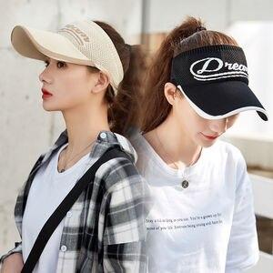 Women's Fashion Empty Top Hat Breathable Sunshade Sunscreen Hat Summer Travel Beach Hat  Visor Hat  Hats for Women  Hats