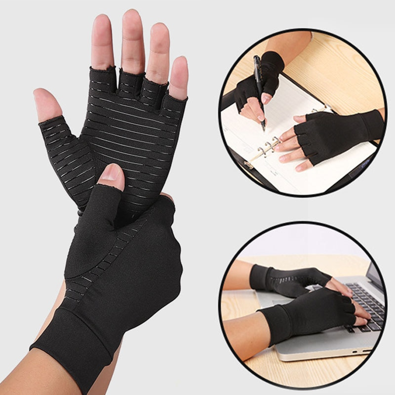 hans georg schaible pain in osteoarthritis 1 Pair Arthritis Compression Gloves Women & Men For Osteoarthritis Arthritis Tendonitis and Typing-Rapid Recovery Pain Relief