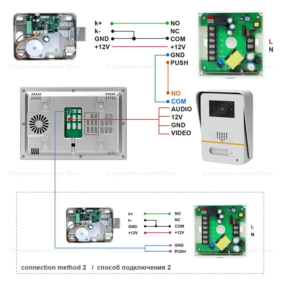 WIFI Video Intercom TUYA Smart Life APP IP Door Phone Intercom for Home  7 Inch Touch Screen  1080P Video Doorbell Camera System enlarge