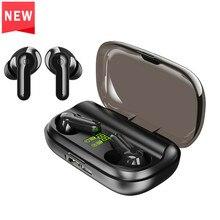 Draadloze Bluetooth Hoofdtelefoon Bt 5.0 Touch Control Oortelefoon Sport Stereo Gaming Headset Met 2200 Mah Batterij Opladen Case