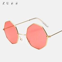 ZUEE New metal glasses retro ocean piece optical glasses anti-blue light transparent glasses frame o