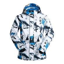 New Ski Jackets Men Brands Waterproof Breathable Male Snow Jacket Hiking Winter Jackets Men Skiing a