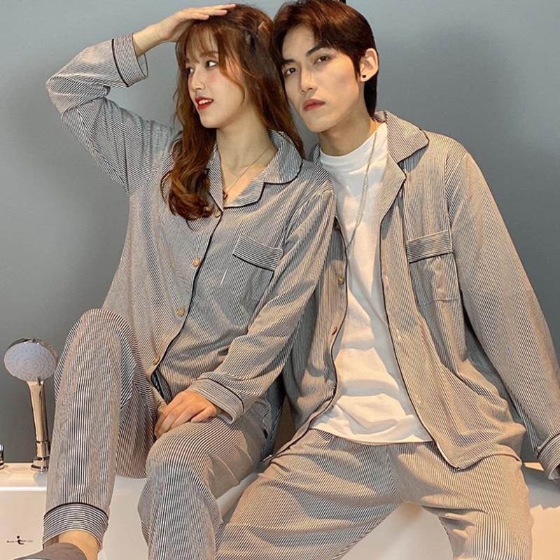 Ломаная лапка пижама для мужчин плед весна лето одежда для сна пижамы пижамы комплект 3XL повседневная полосатая мужская домашняя одежда дом одежда 2021
