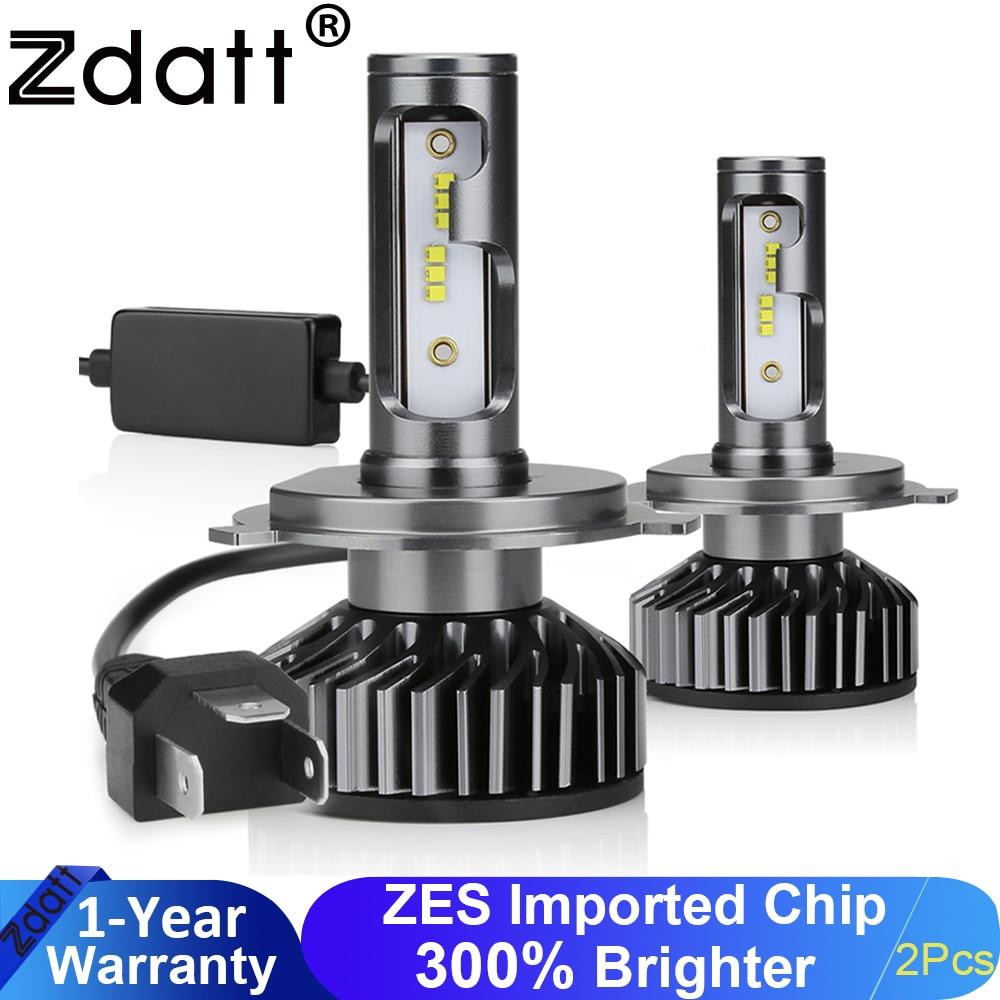 Zdatt Bulb H7 LED Canbus Headlight H8 H9 H11 H27 880 HB3 9006 HB4 H4 Led Auto Lights 12000LM 100W 6000K 360 12V Car Accessories
