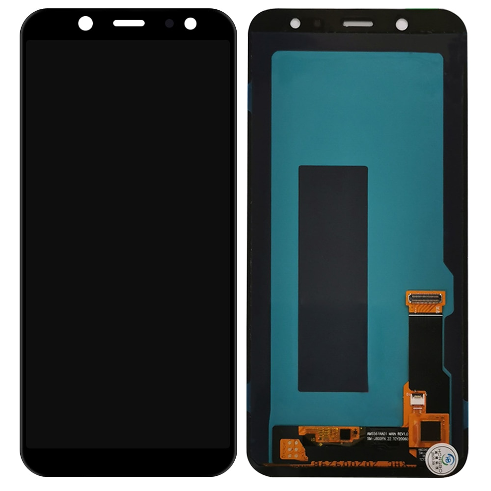 100% Tested OLED For Samsung Galaxy A6 2018 A600 A600F A600FN LCD Display Touch Screen Digitizer Assembly For A600 LCD enlarge