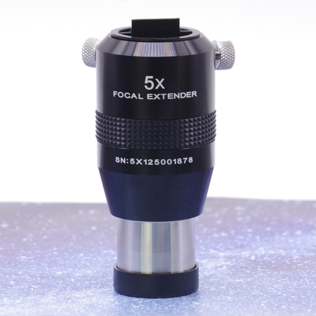 Explorar científico ES 2X 3X 5X barrow 4 piezas súper acromático 1,25 pulgadas barlow multiplicador